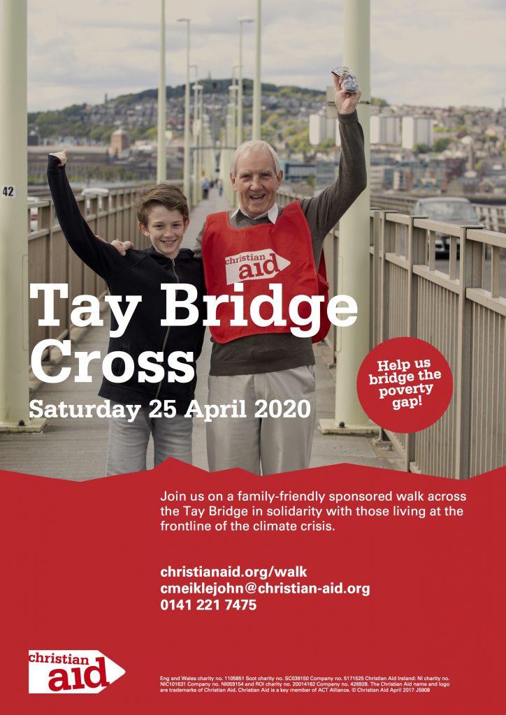 Christian Aid Tay Bridge Cross Poster