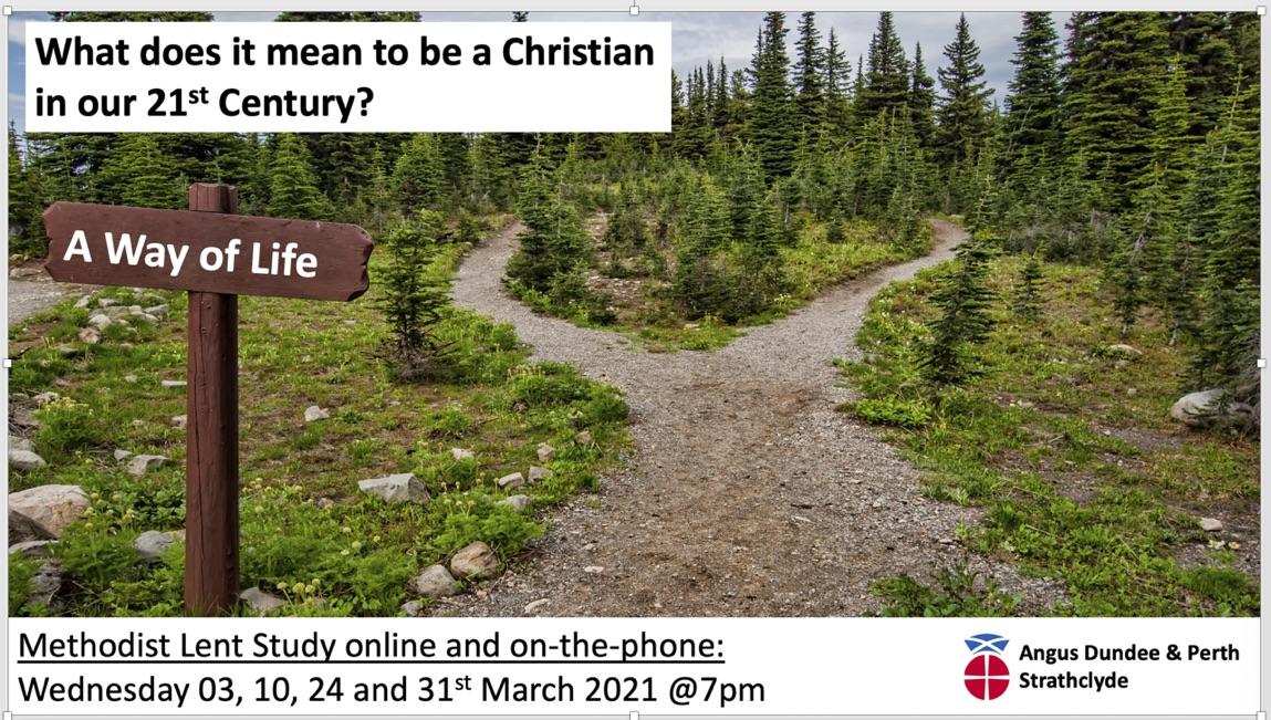 Lent study group flyer