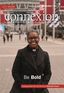 Cover picture of Connexion showing Rev Sonia Hicks
