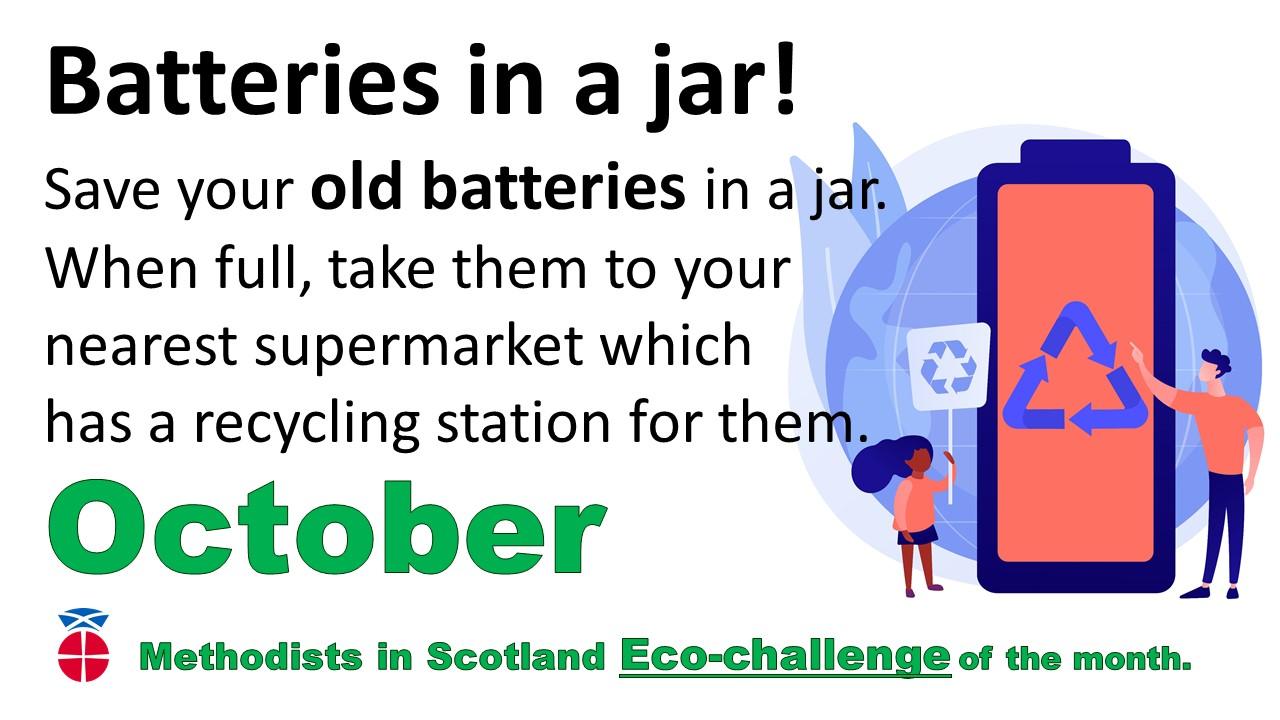 October Eco-challenge flyer